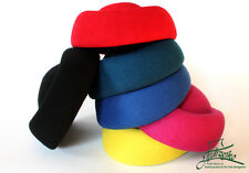 PillBox Wool felt hood body woolfelt millinery block base hat fascinators cap