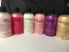 PHILOSOPHY SHAMPOO BATH SHOWER GEL CHERRY MARSHMALLOW COOKIE CINNAMON SUGAR