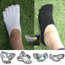 5 Pairs Five Toe Short Socks Mens for VIBRAM Fivefingers FILA Skele Shoes KOREA