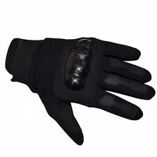 Mens Black Knuckle Gloves Combat Hard Protection Security Doorman Street Style