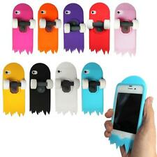 3D Cute Skateboard Cartoon Soft Silicone Stand Cover Case For Apple iPhone 4 4s