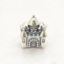 Fairytale Castle Happily Ever After Pink Charm Sterling Silver 14k Gold CZ beads