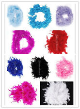 Feather Boa Fluffy Craft Decoration for DIY Birthday/ Costume - L 2m - 10 Color