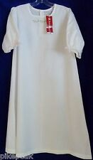 American Girl Elizabeth's solid white nightgown 3/4 Sleeve all season Polyester