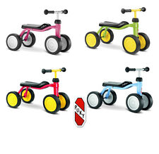 My first game Puky vehicle ride vehicle Pukylino impeller red pink blue green
