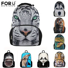 Fashion 3D Animal Men Backpacks Panda,Horse,Dinosaur School Bag For Teenagers