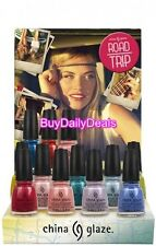 China Glaze ROAD TRIP Spring 2015 Full Size 0.5oz Polish 12 Color Collection