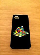 Rubiks Cube Drip Iphone Hard Case Cover - Fits 4,4s,5,5s,5c,6,6+  Art