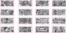 Fashion Print Fairy Series Nail Art Image Stamp Stamping Plate Manicure Template