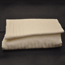 """1 pc Fitted Sheet with Extra Deep Pocket up to 30"""" Egyptian Cotton 1000 tc Ivory"""