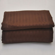"""1 pc Fitted Sheet with Extra Deep Pocket up to 30"""" Egyptian Cotton 1000 tc Choco"""