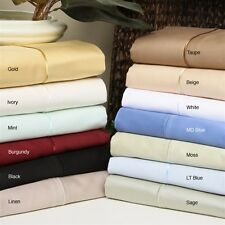 US Full Size Bedding Collection 1000TC 100%Egyptian Cotton Choose Your Item