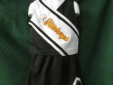 Pittsburgh Steelers Kids Cheerleader Outfit 3502CL