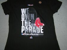 "Boston Red Sox  2013 ""We Own the Parade"" Ladies Women's T-Shirt (Various Sizes)"