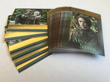 GAME OF THRONES SEASON Gold Cards - Make Up Your SET
