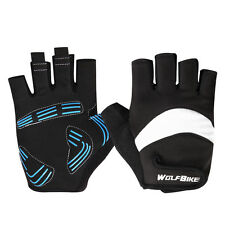 2016 Mens Breathable Cycling Bike Bicycle Sports GEL Pad Half Finger Glove M-XL