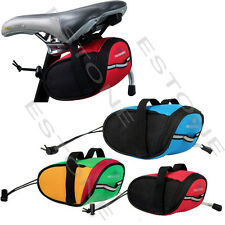 Portable Outdoor Waterproof Cycling Bike Bicycle Saddle Pouch Back Rear Seat Bag