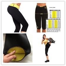 Free shipping hot shapers stretch neoprene slimming pants body Unisex Pants
