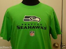 Brand New Green Seattle Seahawks Reebok NFL T-Shirt Most Sizes Available