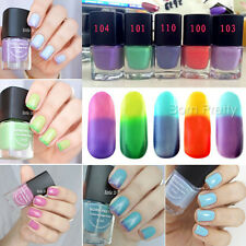 6ml Color Changing Nail Polish Temperature Thermal Multicolor Nail Art Varnish