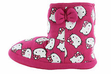 Girls Hello Kitty Hot Pink Slipper boots New with tags