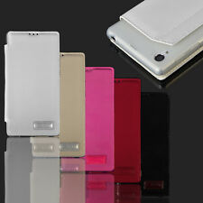 Wallet Stand PU Leather Case Cover Card Holder For Various Sony Xperia Phone