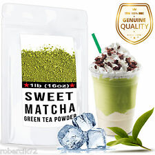 Sweet  Matcha Green Tea Powder - Perfect for making Frappe/Latte