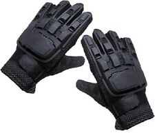Tansik Full Finger Plastic Back Airsoft Gloves PaintBall