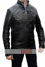 Sale on Superman Black Smallville Real Leather Shield Jacket