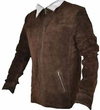 Celebrita X Cowboy Western Suede Leather Jacket for Men's