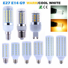 E27 G9 E14 SMD 5050 LED Lamp Bulbs Corn Light Warm Cool White 6W 9W 12W 16W 20W