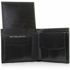 Brand New Men's High Quality Genuine Italian Leather Wallet - Black or Brown
