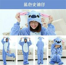 Unisex Adult Kid Pajamas Kigurumi Cosplay Animal Onesie Sleepwear Stitch 2015