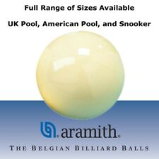Aramith Pool and Snooker Cue Balls - UK, USA, Coin, Snooker, Genuine White Balls