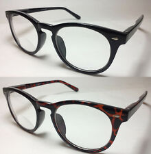 No Line Bifocal Reading Glasses Clubmaster Wayfarer  Man Woman - ST944
