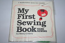 My First Sewing Book Hand Sewing by Winky Cherry w Project Included!