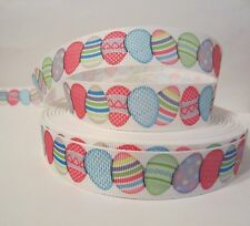 """GROSGRAIN EASTER 7/8"""" INCH RIBBON FOR HAIR BOWS *YOUR CHOICE 1, 3,  5 YARDS**"""