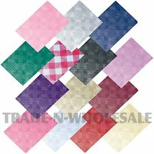 25 x PAPER TABLE CLOTHS, DISPOSABLE, SQUARE TABLE COVERS, PARTY, DISPOTEX