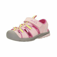 Clarks Beach Tide Pink Synthetic Water Friendly & Machine Washable Sandals