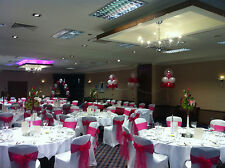 Wedding Chair covers and organza sash DIY hire in the Bristol and Bath area