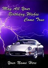TVR Cerbera  Personalised Card Dad Son Grandson Brother Nephew 18th 30th PIDTVR1