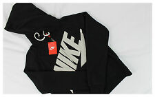 NIKE RALLY SIGNAL LOGO HOODIE WOMEN NWT 545653-010 BLACK SIZES XS,S,M,L,XL
