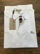 Burberry Brit Polo T-Shirt Ship Worldwide New with Tags White