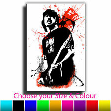 Dave Grohl Foo Fighters Iconic Celebrities Abstract Canvas Print Various Sizes B