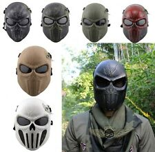Death Skull Bone Tactical Military Full Face Mask Hunting Shooting Face Protect