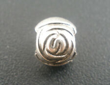 Wholesale Lots DIY Jewelry Spacer Beads Silver Tone Valentine Rose 6x7mm