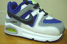 TODDLER INFANT BABY BOYS NIKE AIR MAX COMMAND TD TRAINERS UK 4.5 - 7.5 ( 4 0 6 )