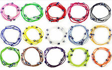 Evil Eye Wrap Around Lucky Beads Friendship Fashion Bracelet #2330