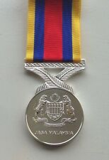 Malaysia Pingat Jasa Full Size Medal, Loose, Court or Swing Mounted Option