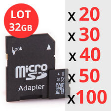 32GB Micro SD Memory Card For Smartphones and Tablet WHOLESALE/BULK/JOB LOT SALE